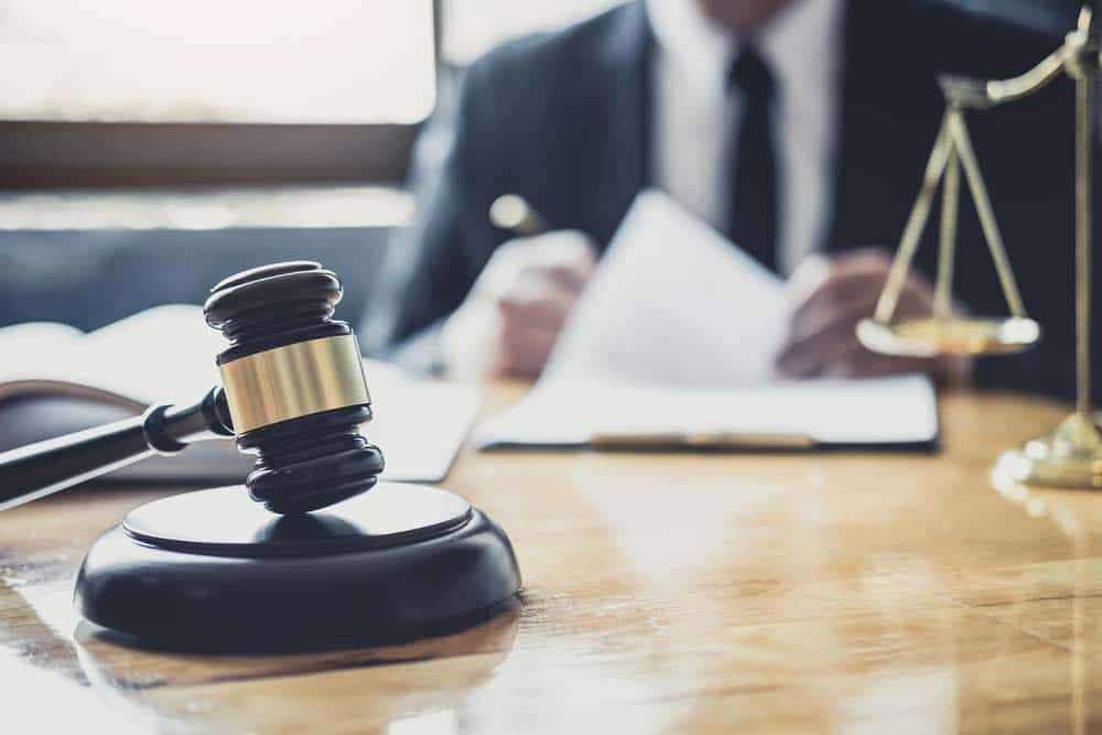 Male Lawyer Or Judge