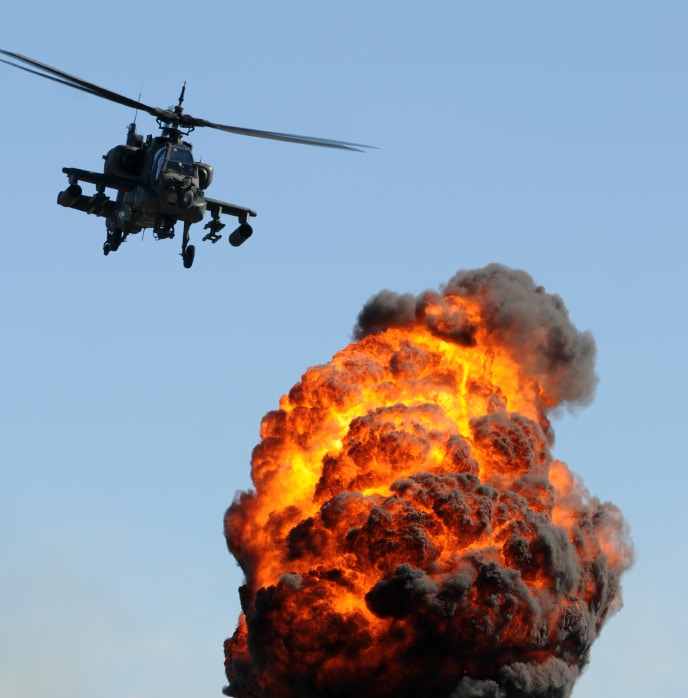 Stunt Helicopter RIsks