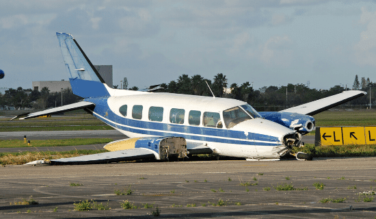 Private plane crash statistics show a pattern of negligence which can support a personal injury or wrongful death claim